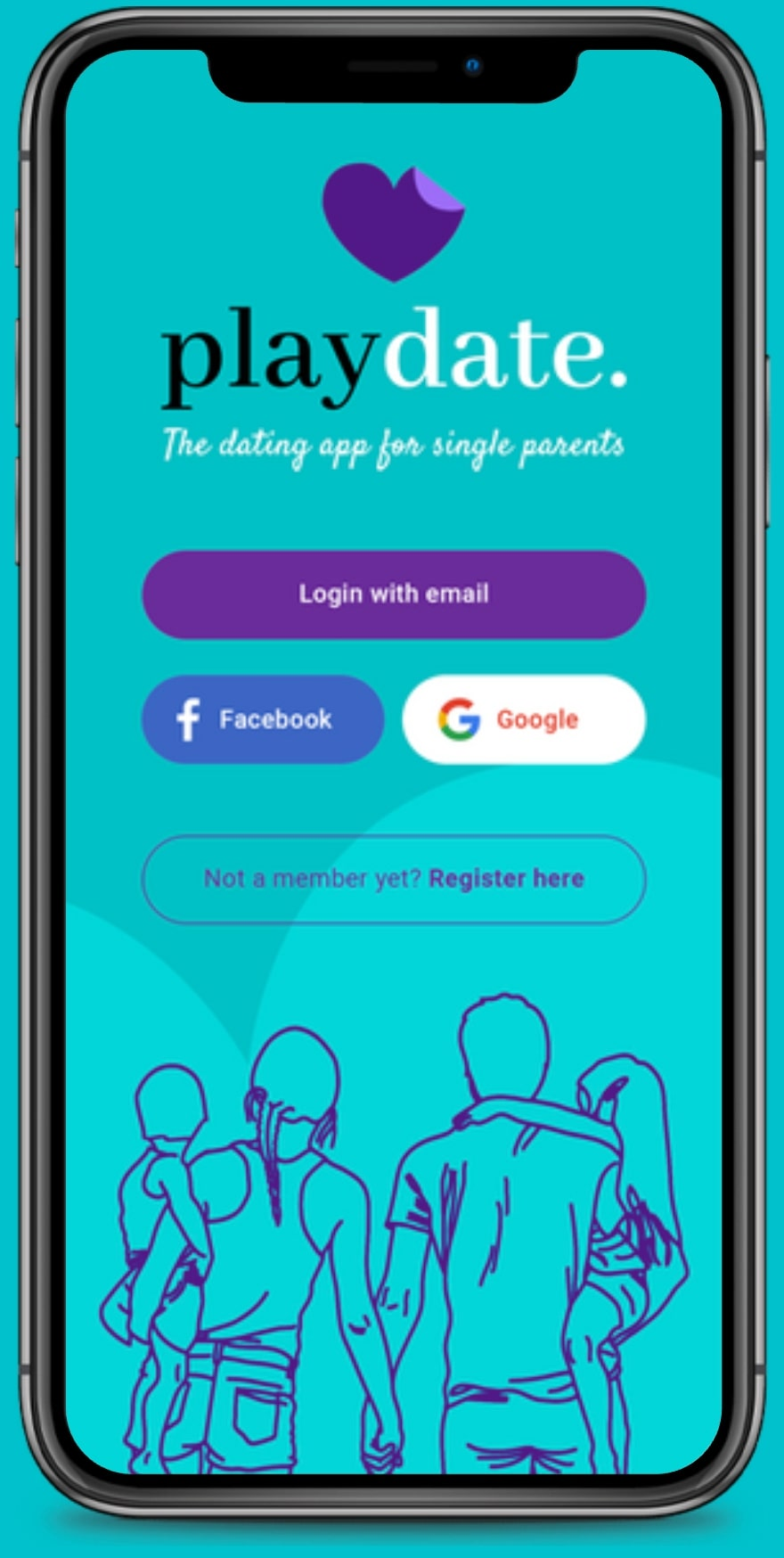 Dating apps for single parents, Playdate app